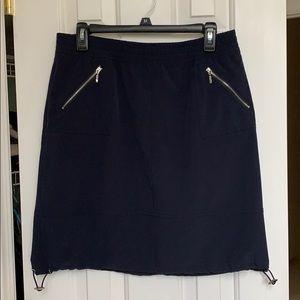 Chico's Zenergy Navy Golf Skirt NWOT